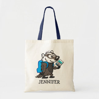 Ricky Raccoon | Boomer Badger Selfie Tote Bag