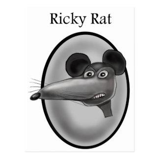 Ricky Rat  Cartoon Postcard