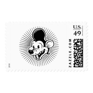 Ricky Rodent Postage Stamps