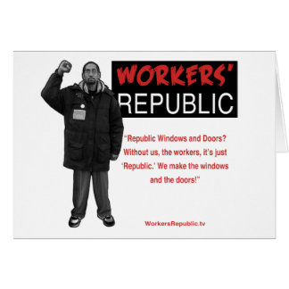 Ricky: Without us it's just Republic Card