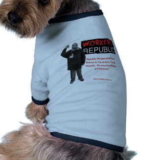 Ricky: Without us it's just Republic Dog Tee Shirt