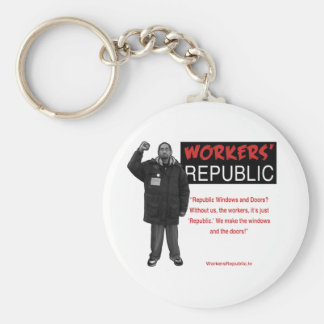 Ricky: Without us it's just Republic Key Chain