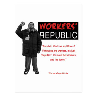 Ricky: Without us it's just Republic Post Card