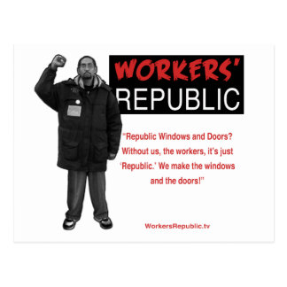 Ricky: Without us it's just Republic Postcard