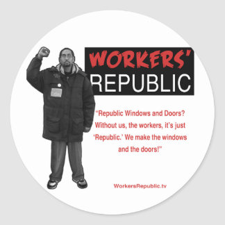 Ricky: Without us it's just Republic Stickers