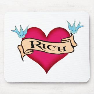 Rico - camisetas y regalos de encargo del tatuaje alfombrilla de ratones