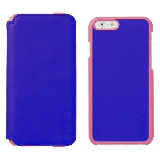 ~ RICO del AZUL REAL (color sólido) Funda Billetera Para iPhone 6 Watson
