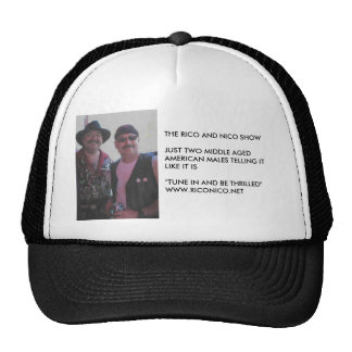 RICO&NICO, CAP101 TRUCKER HAT