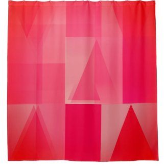 Ricoleta Shower Curtain in Rose Shades