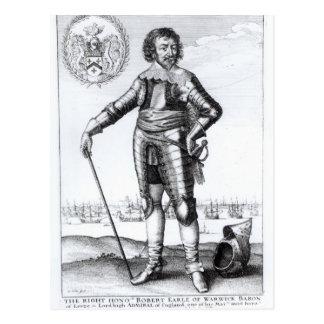 Ricos de Roberto, 2do conde de Warwick Tarjetas Postales