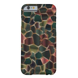 Ricos Earthtones del mosaico Funda Barely There iPhone 6