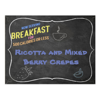 Ricotta and Mixed Berry Crepes Recipe Card