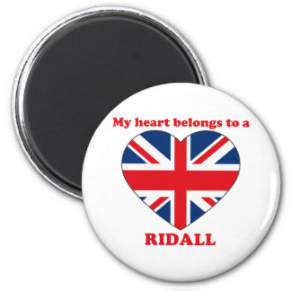 Ridall 2 Inch Round Magnet