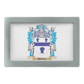 Ridall Coat of Arms - Family Crest Belt Buckles