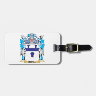 Ridall Coat of Arms - Family Crest Luggage Tag