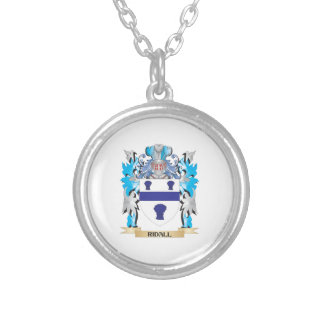 Ridall Coat of Arms - Family Crest Necklace