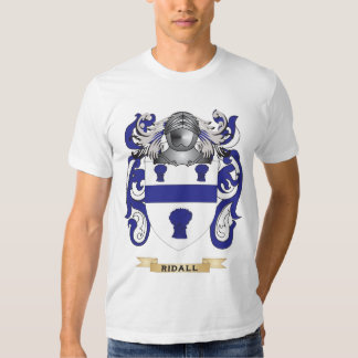 Ridall Coat of Arms (Family Crest) T-shirt