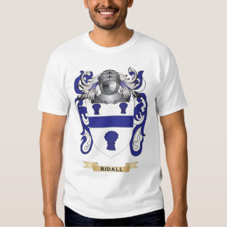Ridall Coat of Arms (Family Crest) Tshirt
