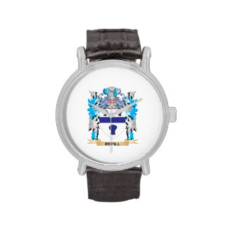 Ridall Coat of Arms - Family Crest Wrist Watches
