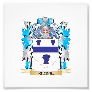 Riddal Coat of Arms - Family Crest Art Photo