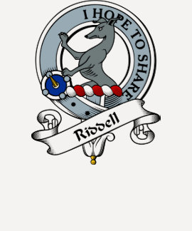 Riddell Clan Badge Tshirt