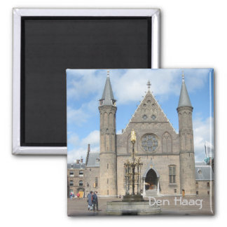Ridderzaal 2 Inch Square Magnet