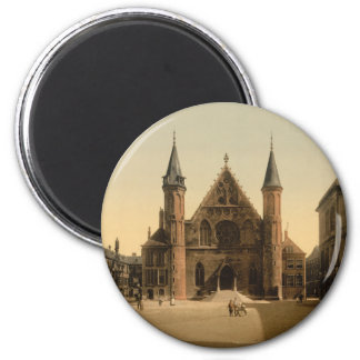 Ridderzaal (Knights' Hall), The Hague, Netherlands 2 Inch Round Magnet