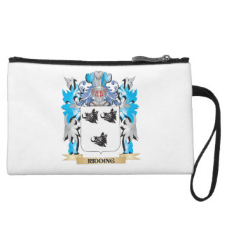Ridding Coat of Arms - Family Crest Wristlet Clutch