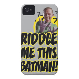 Riddle Me This Batman Case-Mate iPhone 4 Case
