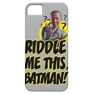 Riddle Me This Batman iPhone SE/5/5s Case