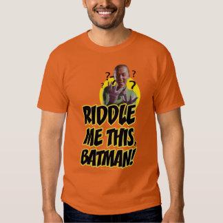 Riddle Me This Batman Shirt