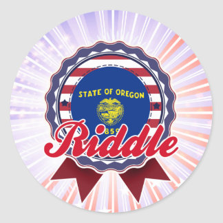 Riddle, OR Stickers