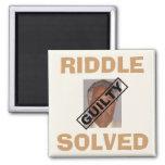 Riddle Solved! Refrigerator Magnets