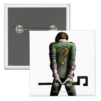 Riddler 2 2 inch square button