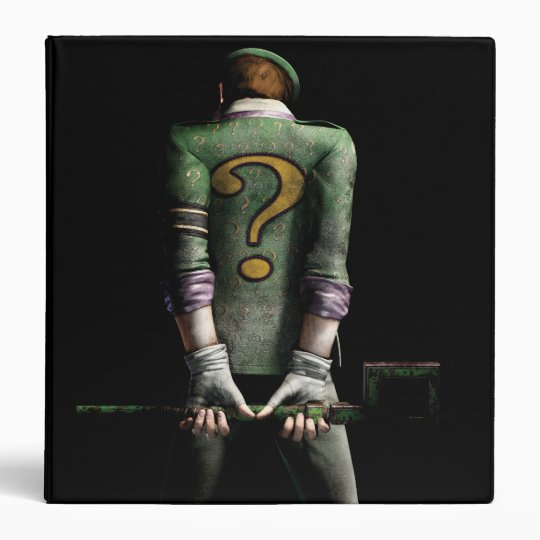 Riddler 2 3 ring binder