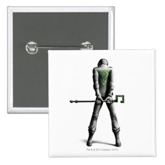 Riddler 2 Inch Square Button