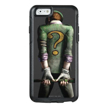 Riddler 2 Otterbox Iphone 6/6s Case by batman at Zazzle
