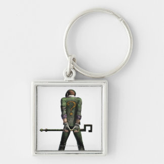 Riddler Color Keychain