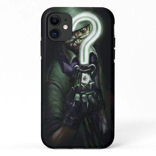 Riddler Illustration iPhone 11 Case