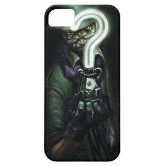 Riddler Illustration iPhone 5 Cases