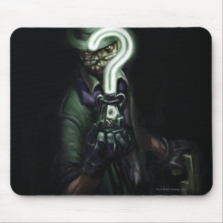 Riddler Illustration Mouse Pad