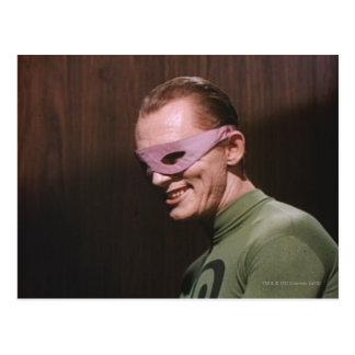 Riddler - Masked Postcard