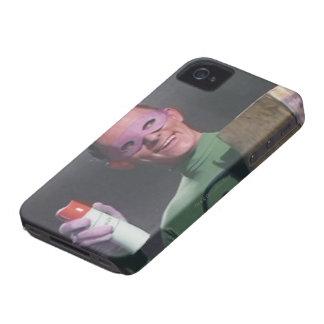 Riddler - poder de aerosol iPhone 4 Case-Mate cárcasas