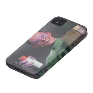 Riddler - poder de aerosol iPhone 4 Case-Mate protector