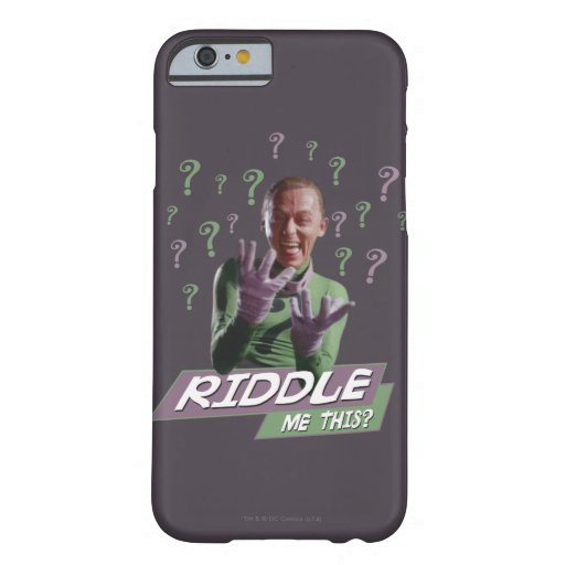 Riddler - Riddle Me This Barely There iPhone 6 Case