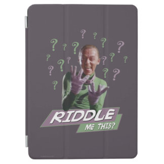 Riddler - Riddle Me This iPad Air Cover