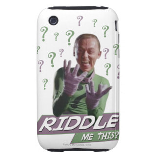 Riddler - Riddle Me This iPhone 3 Tough Cover