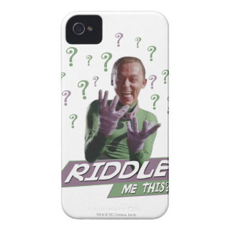 Riddler - Riddle Me This iPhone 4 Case
