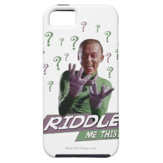 Riddler - Riddle Me This iPhone SE/5/5s Case