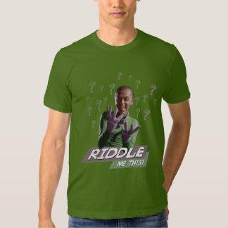 Riddler - Riddle Me This Shirt